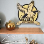 Hunting Duck Dekoratif Obje