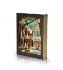 Box Frame Sokak Dekoratif Obje