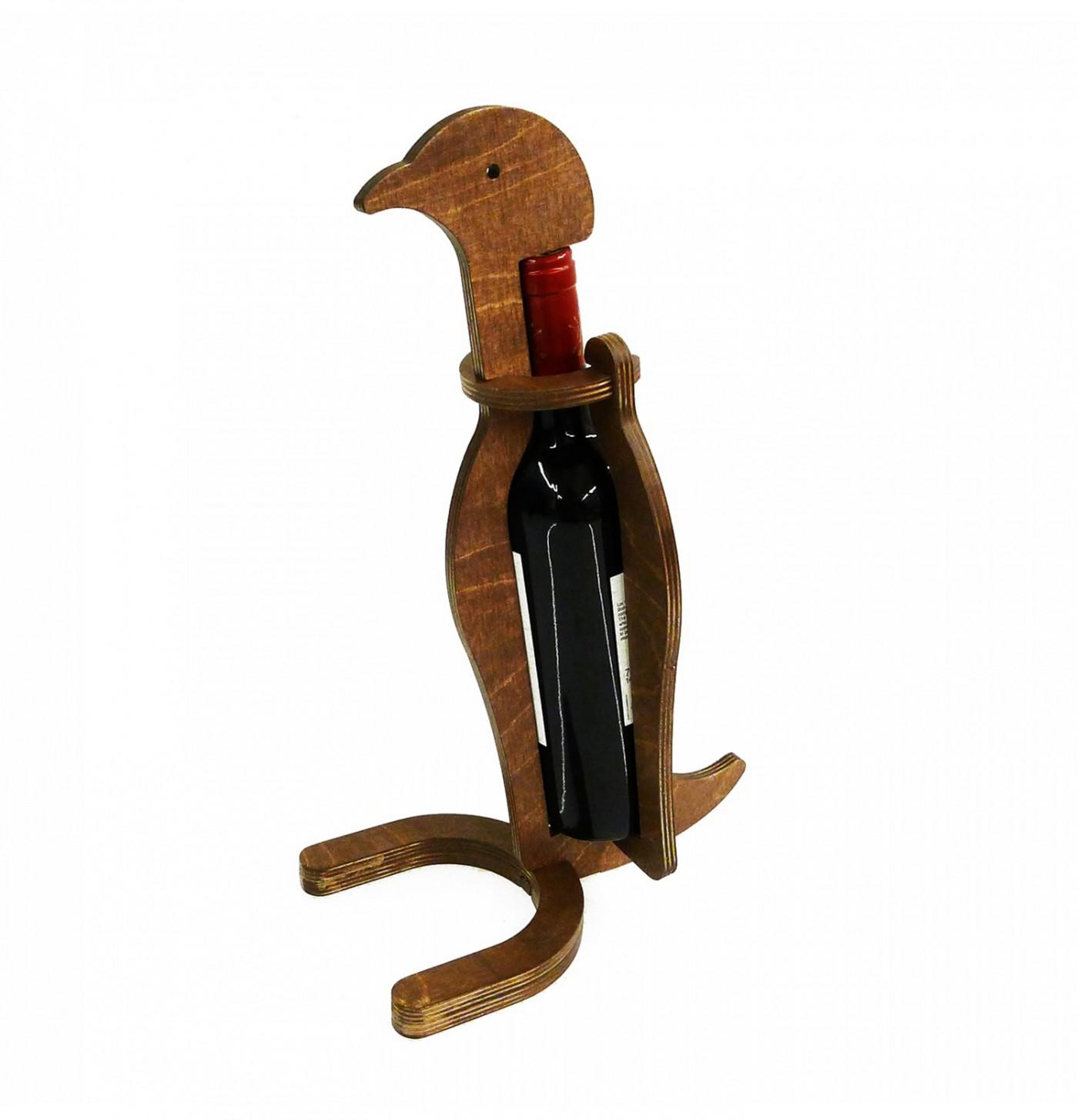 Ceviz Tekli Kuş Şarap Standı