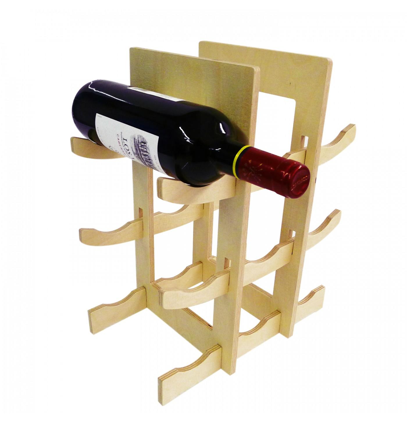 9'lu Şarap Standı
