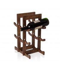 Ceviz 9'lu Şarap Standı