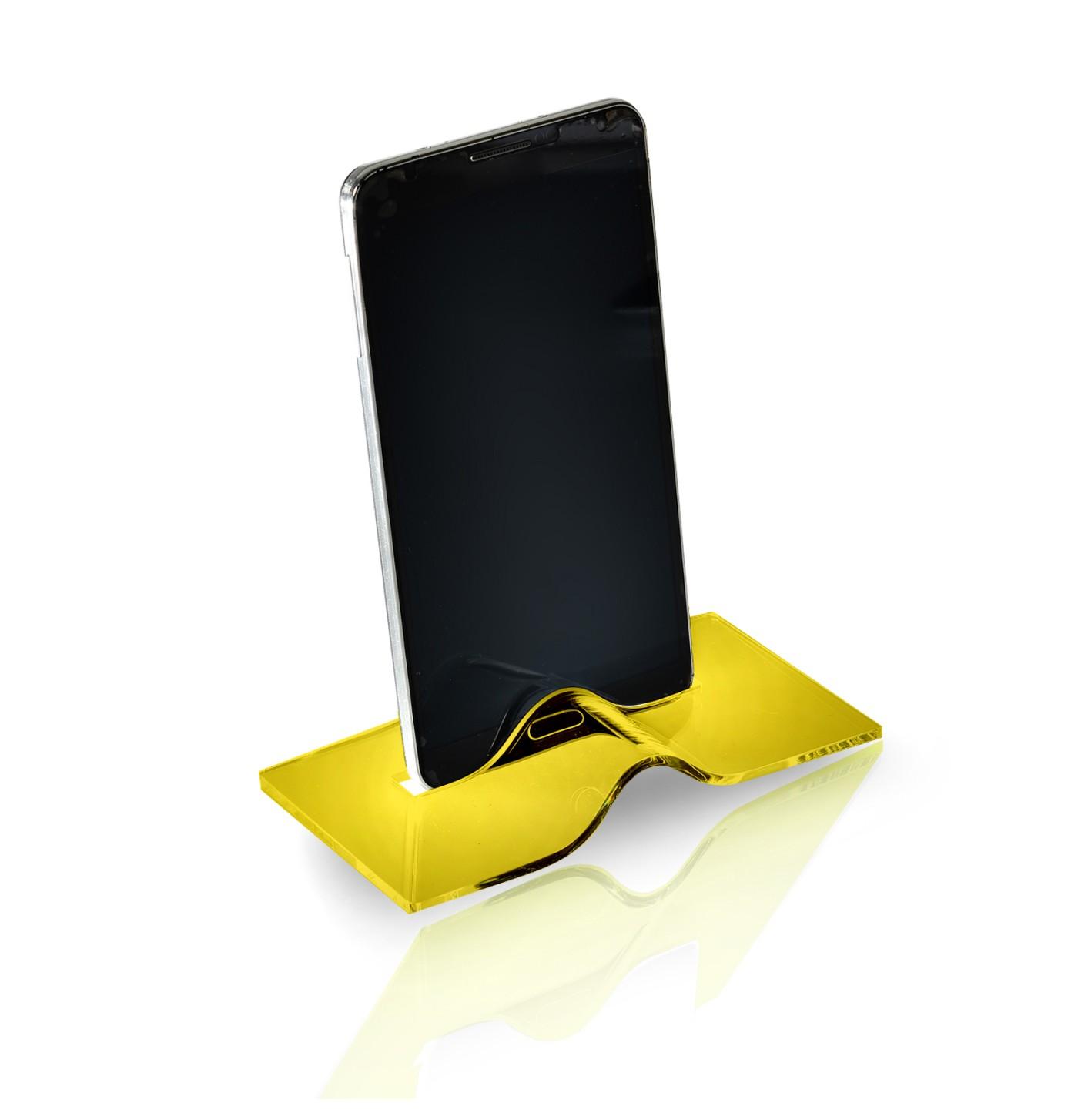 Fosforlu Sarı Akıllı Telefon Tutucu