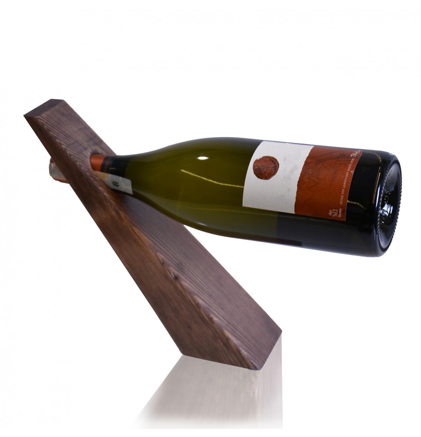 Ahşap Modern Şarap Standı