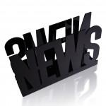 News Gazete Magazinlik Siyah