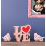 Love Kalbim Ahşap Obje