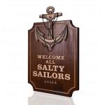 Denizci Çapa Dekoratif Obje