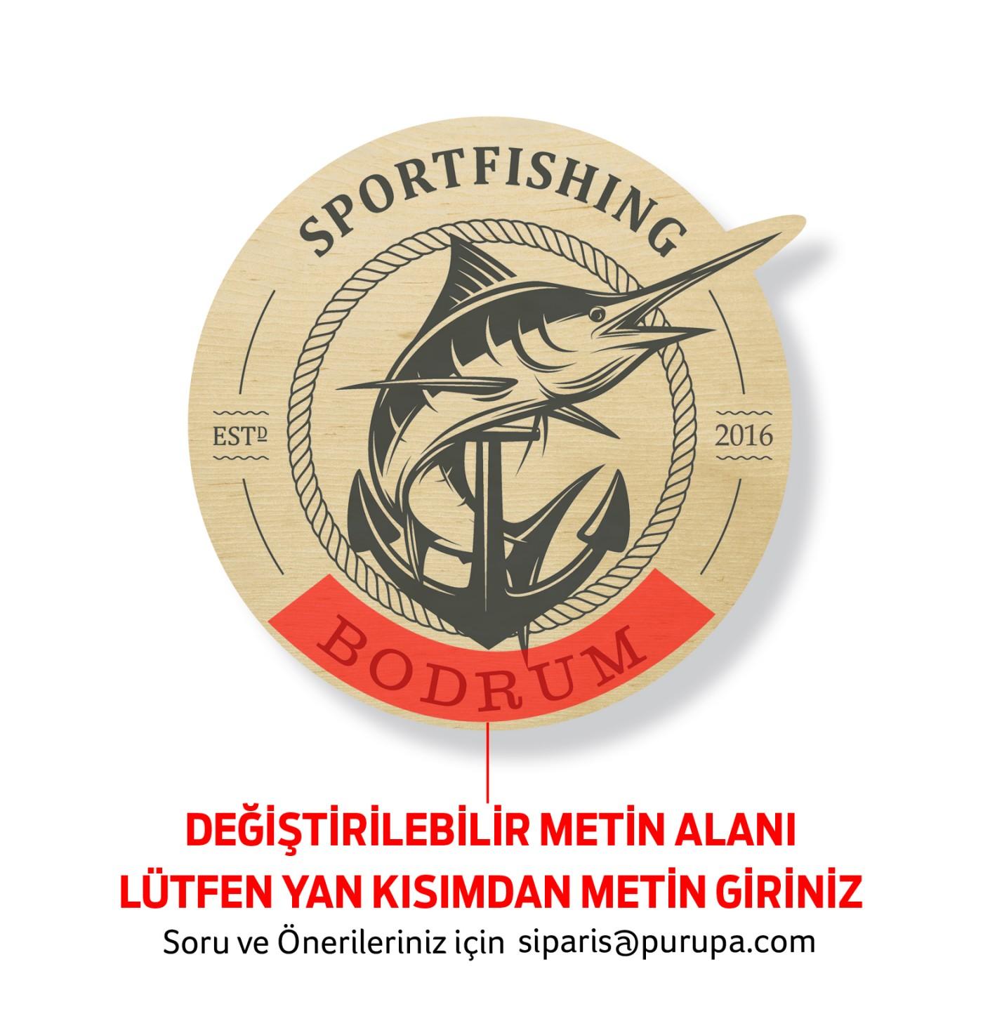 Sportfishing Bardak Altlığı