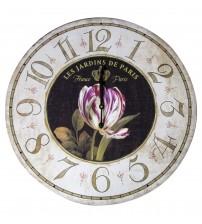 Paris Bahçeleri Duvar Saati